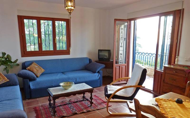 Wohn- Essbereich obere Ferienwohnung -