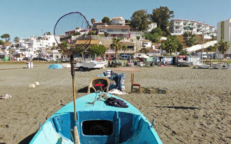 Der Strand von Benajarafe -
