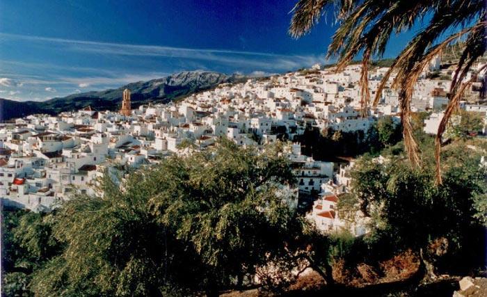 Das schöne weisse Dorf Competa