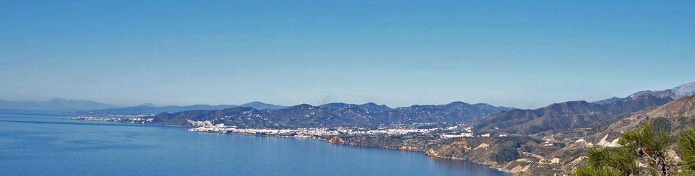 Blick in die Bucht von Nerja