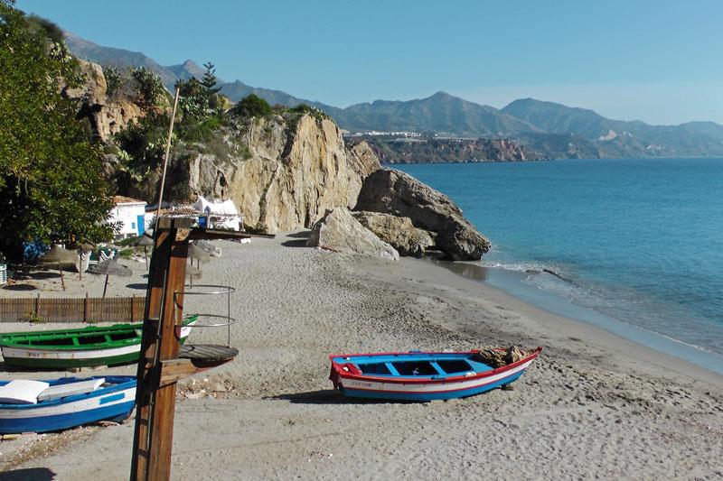 Der Calahonda Strand -