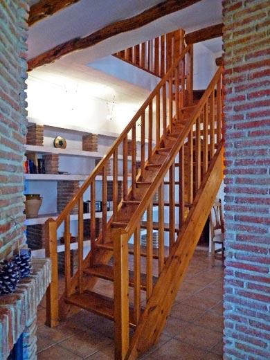 Eine Treppe