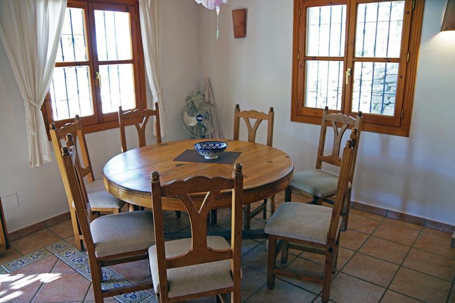 Wohnzimmer Ferienhaus -