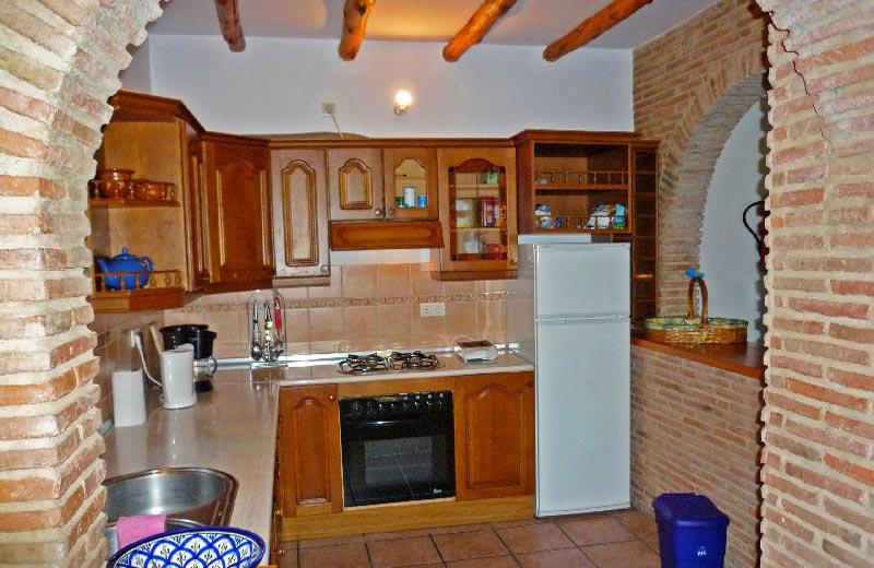 Casa El Mirador - die Einbauküche -