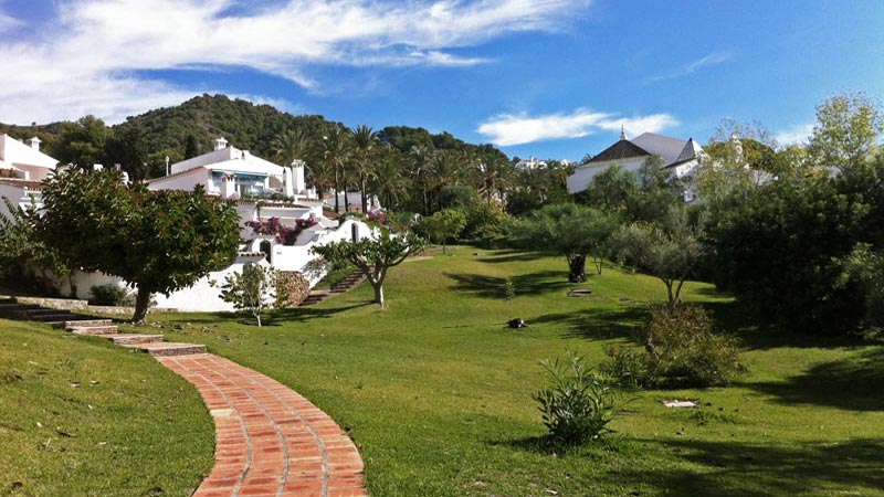 Die Parks und suptropischen Gärten